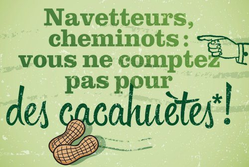 SAINT-VALENTRAIN : Navetteurs, cheminots, vous ne comptez pas pour des cacahuètes !