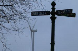 À la rencontre d'éoliennes