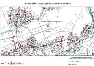 À propos du projet d'implantation d'une usine de biométhanisation dans le bois de Sandron