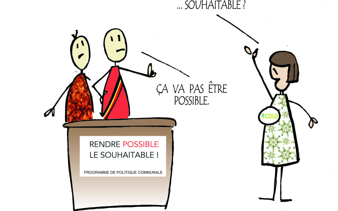 Conseil communal : Nos propositions